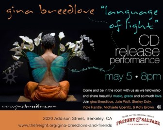 Gina Breedlove 'Language of Light' flier