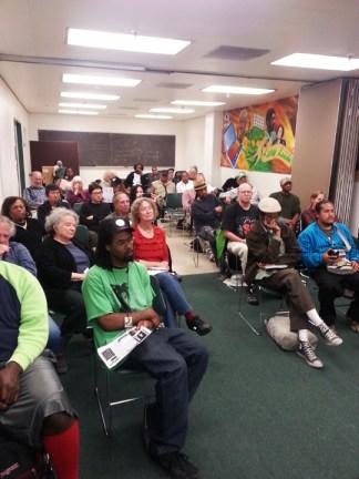 KPFAGÇÖs Townhall on Racism audience at Laney 041113 by JR, web