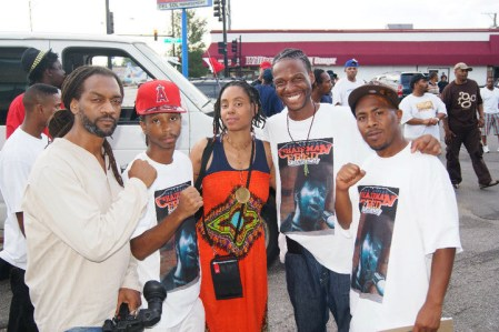 Richard Shabazz of Atlanta, Prince Amir, Sherise Nicole, Young Malcolm, JR Chicago 2010 by BRR