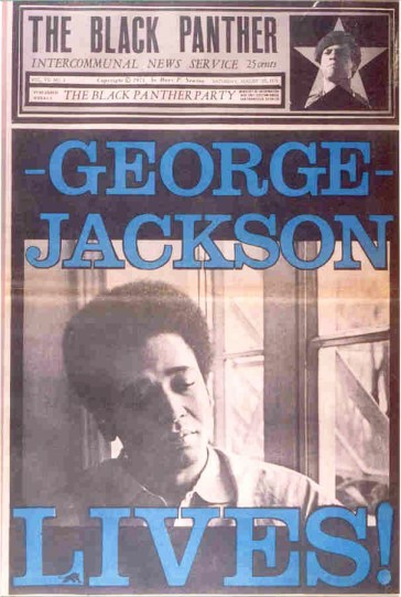 'George Jackson Lives,' The Black Panther newspaper