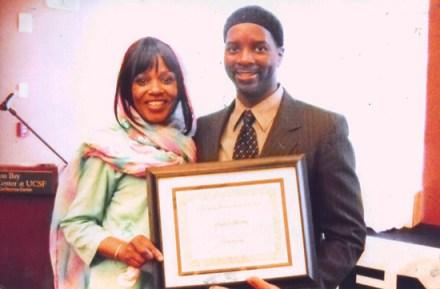 Ameena, Charles 'Talib' Brooks small business award from Renaissance