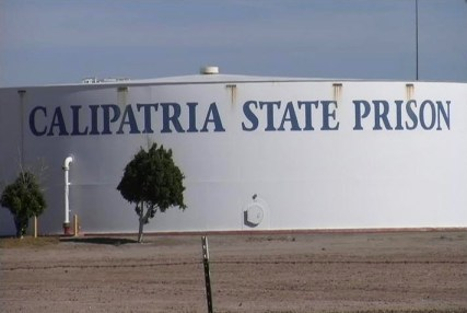 Calipatria State Prison sign