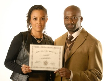 African Ancestry President Gina M. Paige, Scientific Director Rick Kittles, PhD