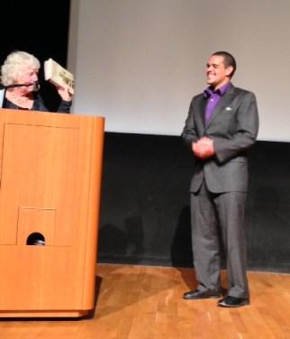 Melvin Willis receives Mario Savio Young Activist Award 110713