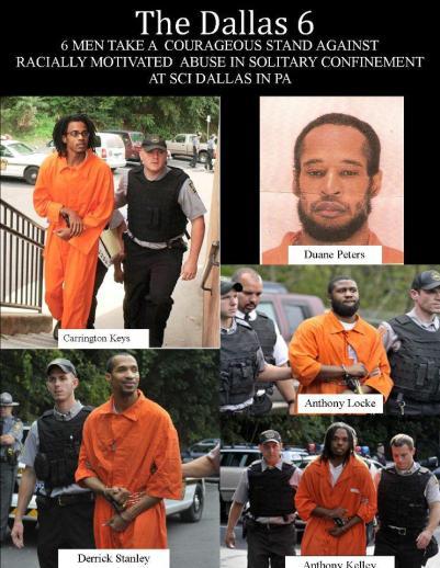 'The Dallas 6' collage