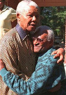 Nelson Mandela, Desmond Tutu