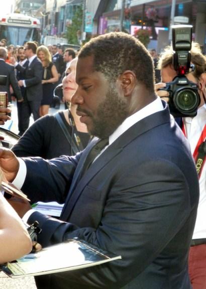 Steve McQueen premiere '12 Years a Slave' 2013 Toronto Int'l Film Festival, web
