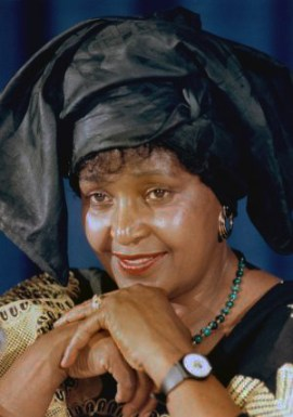 Winnie Mandela c. 2010