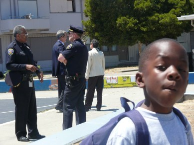 Westpoint boy with cops by Dominique Butler 061208, web