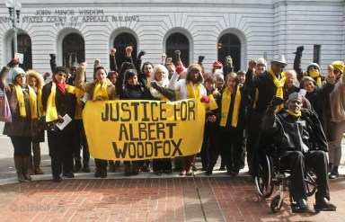 Woodfox hearing 5th Circuit supporters rally 010714 by Hillary Donnell