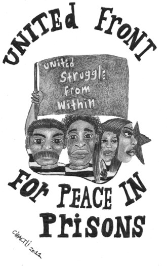 'United Front for Peace in Prisons', web
