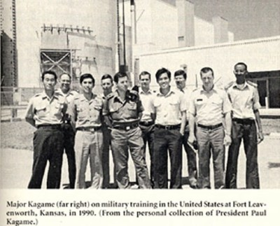 Paul Kagame trained at Army Command College Ft. Leavenworth 1990