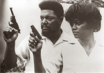 The iconic photo of Robert and Mabel Williams in the 1960s – with guns