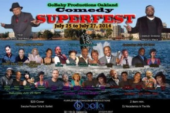 GoBaby Productions Oakland Comedy Superfest poster
