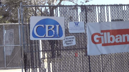 The Treasure Island headquarters of Navy contractors CBI and Gilbane is adjacent to the badly contaminated storage yard and dumpsite where the CBI truck picked up its load of toxic soil. – Photo: Carol Harvey