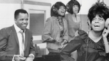 Berry Gordy, Diana Ross and The Supremes back in the day – Photo: Gilles Petard, Redferns