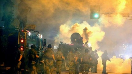 Militarized police made war on the youth of Ferguson.