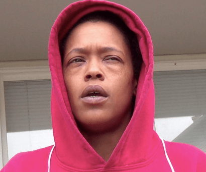 "Neplensah Yarway, 35, known as ""Princess,"" was told at the Emergency Room her asthma is so bad that in case of another attack, they'll have to put her on life support. Inch-thick mold is growing inside her walls. – Photo: Carol Harvey"