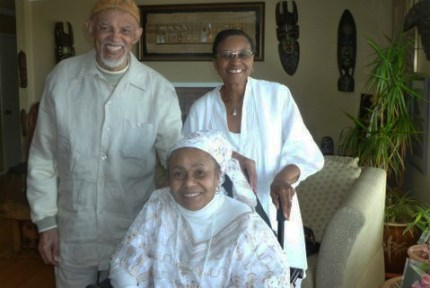 Brother Syed Al Khatib, Vera Nobles (seated), Carolyn Martin Shaw