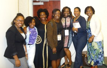 These are the San Francisco Bay Area attendees at the National Conference on African/Black Psychology at Florida A&M University. Next to Wanda, at far right, is Mary Ann Jones, Ph.D., CEO of Westside Community Services, whose mother, community pillar Helen Jones, used to write for the Bay View.