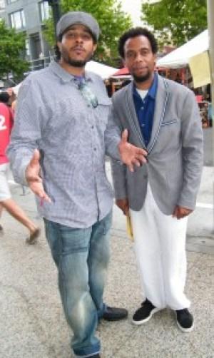 Impresarios of major Bay Area film festivals are Kali O'Ray, director of the San Francisco Black Film Festival, and David Roach, director of the Oakland International Film Festival.