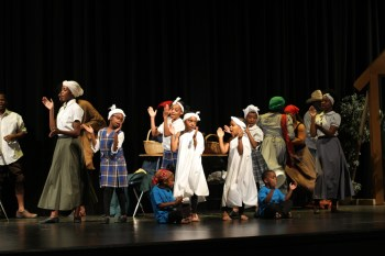 "Lyric Performing Arts Academy students sing a medley of Spirituals at their November ""Harriet Tubman Learned"" student showcase."