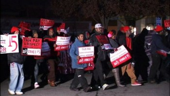 A wave of protests demanding a living wage is sweeping the country as workers muster the courage to defy their employers and risk their livelihood.