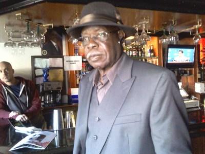 Mr. Bobby Mathias, longtime patron of Sam Jordan's – Photo: Rochelle Metcalfe