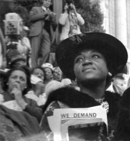 """We Demand"" was taken at the Aug. 28, 1963, March on Washington – Photo: David Johnson"