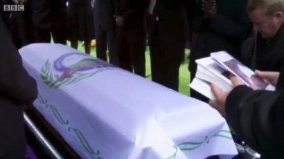 Patrick Karegeya was assassinated in the early hours of New Year's Day 2014 in Johannesburg. He was buried there, amid tight security, his casket draped with the banner of the opposition Rwandan National Congress party.