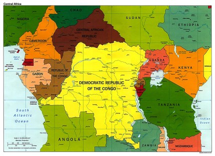 "The term ""Central Africa"" is sometimes used to mean a U.N. region which is actually further to the west. ""Central Africa"" is also used, as it is here, to mean the area between the continent's central equator lines."