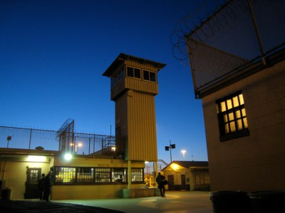 Soledad Prison scene from 'In an Ideal World' 2