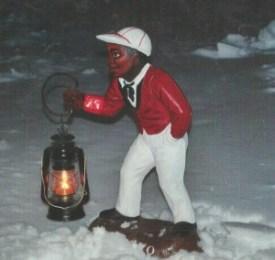 Jocko in snow