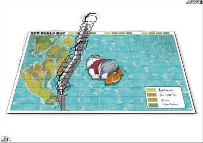 Cartoon by Rafat Alkhateeb