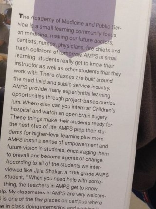 This is the page from the BHS 2015 yearbook that triggered a recall. – Photo: Twitter @berkeleyBSU