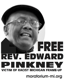 'Free Rev. Edward Pinkney' graphic