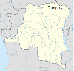 The town of Dungu is the administrative center of Dungu Territory in Congo's northeast, on its border with South Sudan.