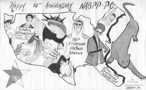 """""""Happy 10th Anniversary NABPP-PC' – Art: Kamau Mukuria"""