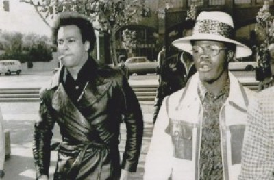 Huey P. Newton and Billy X Jennings in 1971