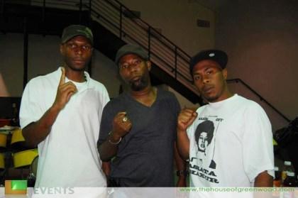JR, Malcolm and Zin in Houston