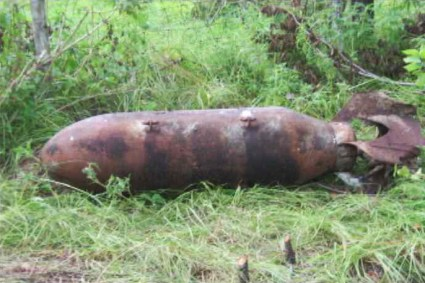 This is one of the many unexploded bombs found buried just beneath the surface in an upscale Lennar subdivision built on a former military firing range in Orange County, Florida. Lennar had not bothered to remove them before developing the land, a pattern of disregard for homebuyers the mega-developer has tried to follow in San Francisco.