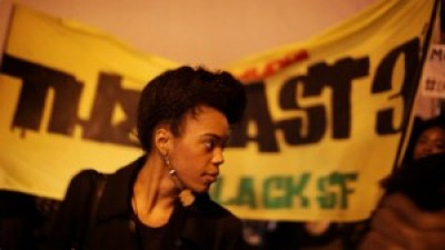 Etecia Brown of the Last 3% of Black SF, a rising force in the struggle for justice – Photo: Noémie Serfaty
