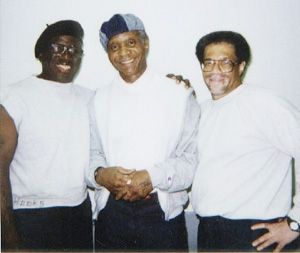 These are the Angola 3: Herman Wallace, Robert King, Albert Woodfox