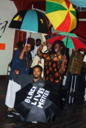 Under the umbrella of Black Unity we stand strong.