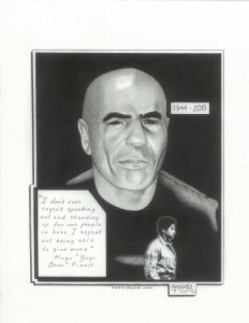 """""""Hugo 'Yogi Bear' Pinell"""" – Art: Kevin """"Rashid"""" Johnson"""