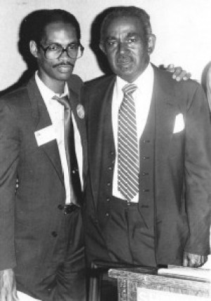 Two Black San Francisco newspaper publishers, Muhammad al-Kareem of the New Bayview and Dr. Carlton B. Goodlett of the Sun-Reporter, were allies and champions for the community, Goodlett located in and focusing on the Fillmore, Kareem the Bayview.
