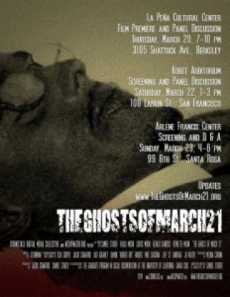 'The Ghosts of March 21' poster, web