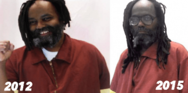 Pictures show the frightening decline in Mumia's health. And in the past year, it's gotten worse.