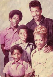 Classic Black family: Sister Nida and Brother Ernest Sr. and sons