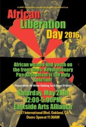 'African Liberation Day 2016' 052816 poster